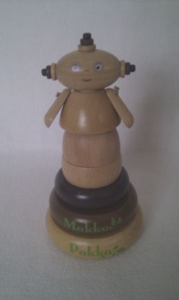 Adorable My 1st 'Makka Pakka' Wooden Stacking In the Night Garden Toy